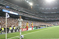 Toni Kroos of Real Madrid during the match of Champions League between Real Madrid and FC Bayern Munchen at Santiago Bernabeu Stadium  in Madrid, Spain. April 18, 2017. (ALTERPHOTOS)