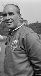 Alf Ramsey, England manager.