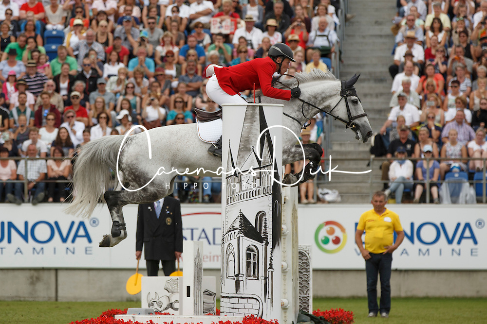 Beerbaum Ludger, (GER), Chiara<br /> Individual Final Competition<br /> FEI European Championships - Aachen 2015<br /> © Hippo Foto - Dirk Caremans<br /> 23/08/15