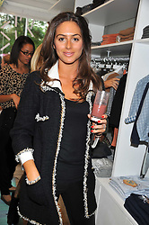 SASKIA BOXFORD at a Cupcake & Tea Party to celebrate the launch of the C de C children's boutique at 133 Fulham Road, London SW3 on 11th October 2011.