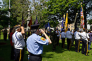 Middletown, New York - Memorial Day ceremonies and parade on May 26, 2014.