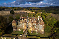 France, Yonne (89), La Puisaye, Treigny, Château de Ratilly // Europe, France, Burgundy, Yonne, La Puisaye, Treigny, Ratilly castle