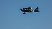 Stinson L-5 flying at Warbirds Over the West.