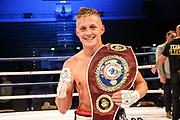 """Boxen: Superweltergewicht, WBO-Europameisterschaft, Hamburg, 29.09.2018<br /> Sebastian """"Hafen Basti"""" Formella (GER) - Ilias Essaoudi (GER)<br /> © Torsten Helmke"""