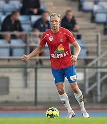 Rasmus Louie Larsen (Hvidovre IF) under kampen i 1. Division mellem Hvidovre IF og FC Helsingør den 15. september 2020 på Pro Ventilation Arena, Hvidovre Stadion (Foto: Claus Birch).