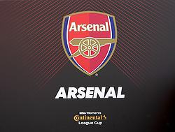 February 23, 2019 - Sheffield, England, United Kingdom - Arsenal dug out notice during the  FA Women's Continental League Cup Final  between Arsenal and Manchester City Women at the Bramall Lane Football Ground, Sheffield United FC Sheffield, Saturday 23rd February. (Credit Image: © Action Foto Sport/NurPhoto via ZUMA Press)