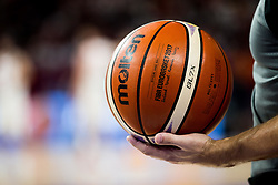 Molten Ball during basketball match between National Teams of Spain and Turkey at Day 11 in Round of 16 of the FIBA EuroBasket 2017 at Sinan Erdem Dome in Istanbul, Turkey on September 10, 2017. Photo by Vid Ponikvar / Sportida