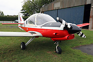 Flight in an Ex Royal Air Force Bulldog