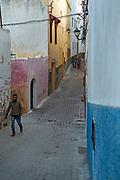 Inside the kasbah of El Jadida.