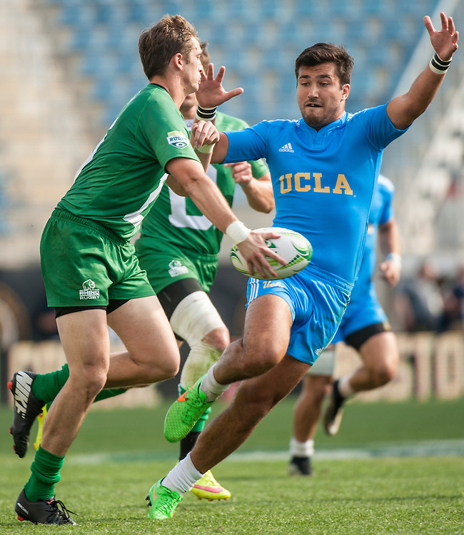 UCLA vs. Dartmouth.<br /> <br /> By Jack Megaw for USA Sevens.