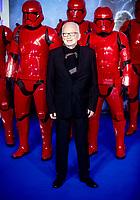 Ian McDiarmid at the 'Star Wars: The Rise of Skywalker' film premiere, London, UK - 18 Dec 2019