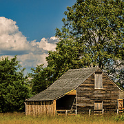 This barn is part of the restoration at the Appomattox national monument.  We were there on a very hot day, but the light and surroundings were great.