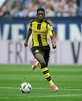 Ousmane Dembele (Dortmund)<br /> Gelsenkirchen, 01.04.2017, Fussball, Bundesliga, FC Schalke 04 - Borussia Dortmund 1:1<br /> Norway only
