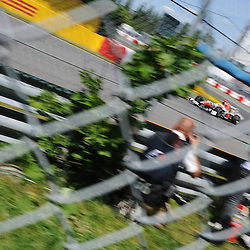 Indian Narain Karthikeyan drives the HRT F111 during practice for the 2011 Formula 1 Canadian Grand Prix, Montral, QC.