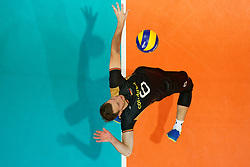 23-09-2019 NED: EC Volleyball 2019 Poland - Germany, Apeldoorn<br /> 1/4 final EC Volleyball Poland win 3-0 / Denys Viktorovic Kaliberda #6 of Germany