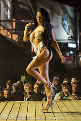 Nightly swimsuit competition at the Buffalo Chip during the annual Sturgis Black Hills Motorcycle Rally. SD, USA.  Tuesday August 8, 2017.  Photography ©2017 Michael Lichter.