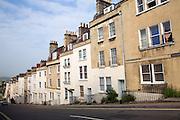 Georgian terraced houses, Morford Street, Bath