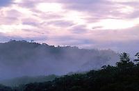 Cerro Delgado Chalbaud al amanecer, Amazonas, Venezuela.
