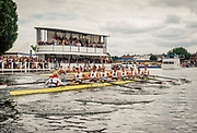 Henley Royal Regatta, Henley on Thames, Oxfordshire, 28 June - 2 July 2017.  Saturday  15:27:36   01/07/2017  [Mandatory Credit/Intersport Images]<br /> <br /> Rowing, Henley Reach, Henley Royal Regatta.<br /> <br /> The Ladies' Challenge Plate<br />  Molesey Boat Club and London Rowing Club v  Brown University, U.S.A.
