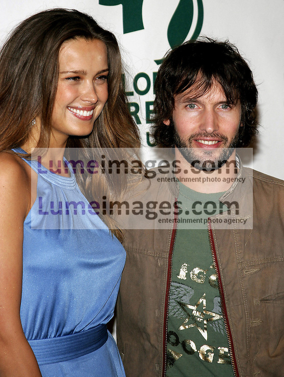Petra Nemcova and James Blunt at the Global Green USA Pre-Oscar Celebration to Benefit Global Warming held at the The Avalon in Hollywood, USA on February 21, 2007.