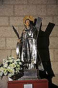 Statue of Saint Vincent, Iglesia de Santa Catalina Martir church, city of Valencia, Spain