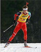 Skiskyting, 11. desmeber 2003,Ole Einar Bjørndalen, Norge Biathlon Norwegen<br /> Weltcup Hochfilzen 10 km Sprint