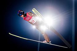 February 8, 2018 - Pyeongchang, SOUTH KOREA - 180208 Kamil Stoch of Poland competes during the Men's Normal Hill Individual Qualification Trial ahead of the 2018 Winter Olympics on February 8, 2018 in Pyeongchang..Photo: Jon Olav Nesvold / BILDBYRN / kod JE / 160146 (Credit Image: © Jon Olav Nesvold/Bildbyran via ZUMA Press)