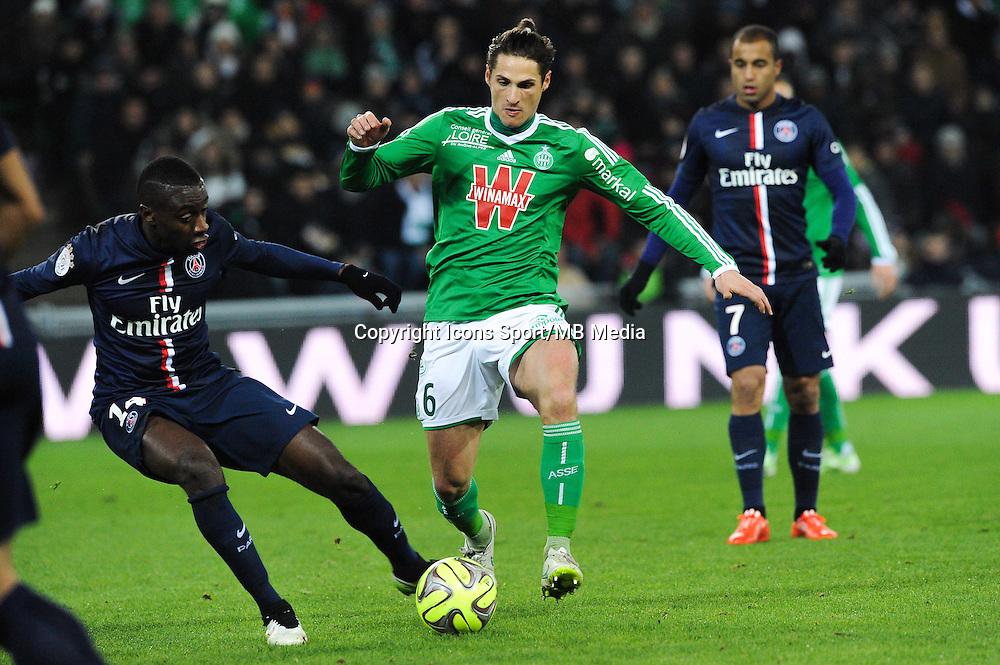 Jeremy CLEMENT - 25.01.2015 - Saint Etienne / PSG - 22eme journee de Ligue1<br /> Photo : Jean Paul Thomas / Icon Sport