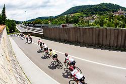 Peloton at Visnja Gora during the 5th Stage of 27th Tour of Slovenia 2021 cycling race between Ljubljana and Novo mesto (175,3 km), on June 13, 2021 in Slovenia. Photo by Matic Klansek Velej / Sportida