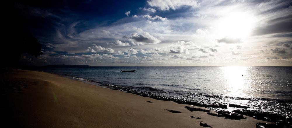 Radiant Sky, Water, Beach, and Sun, Fiji