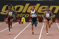 Elaine Thompson JAM Winner 100m Women  <br /> Roma 02-06-2016 Stadio Olimpico.<br /> IAAF Diamond League 2016<br /> Atletica Legera <br /> Golden Gala Meeting - Track and Field Athletics Meeting<br /> Foto Cesare Purini / Insidefoto