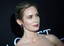 Emily Blunt attending the 'A Quiet Place' New York Premiere at AMC Lincoln Square Theater on April 2, 2018 in New York City, NY, USA. Photo by Dennis Van Tine/ABACAPRESS.COM