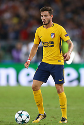 September 12, 2017 - Rome, Italy - Saul Niguez of Atletico  during the UEFA Champions League Group C football match between AS Roma and Atletico Madrid on September 12, 2017 at the Olympic stadium in Rome. (Credit Image: © Matteo Ciambelli/NurPhoto via ZUMA Press)