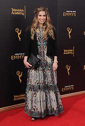 Danielle Fischer bei den Creative Arts Emmy Awards in Los Angeles / 100916<br /> <br /> <br /> *** at the Creative Arts Emmy Awards in Los Angeles on September 10, 2016 ***