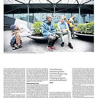 Trouw 24 augustus 2013: opvang daklozen Schiphol