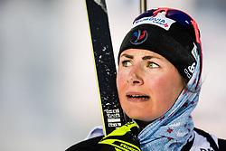 March 8, 2019 - –Stersund, Sweden - 190308 Justine Braisaz of France looks dejected after the Women's 7.5 KM sprint during the IBU World Championships Biathlon on March 8, 2019 in Östersund..Photo: Petter Arvidson / BILDBYRÃ…N / kod PA / 92247 (Credit Image: © Petter Arvidson/Bildbyran via ZUMA Press)