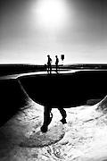 Runner-up, Professional Photographer of The Year 2013, Black & White category.<br /> <br /> Skatepark, Venice Beach, California
