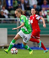 DETTE BILDET INNGÅR IKKE I FASTAVTALER PÅ NETT OG VIL BLI FAKTURERT VED SLIK BRUK.<br /> <br /> Fotball<br /> 30.08.2014<br /> Foto: imago/Digitalsport<br /> NORWAY ONLY<br /> <br /> Caroline Graham HANSEN (VfL)<br /> <br /> 1.Bundesliga - Saison 2014/2015<br /> 1.Spieltag: VfL Wolfsburg - SC Freiburg