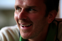 UK ENGLAND MANCHSTER 22SEP08 - Footballer Dietmar Hamann, currently playing as midfielder for Manchester City reacts during interview at the Players Bar near Manchester Airport...jre/Photo by Jiri Rezac..© Jiri Rezac 2008..Contact: +44 (0) 7050 110 417.Mobile:  +44 (0) 7801 337 683.Office:  +44 (0) 20 8968 9635..Email:   jiri@jirirezac.com.Web:    www.jirirezac.com..All images © Jiri Rezac 2008. All rights reserved.