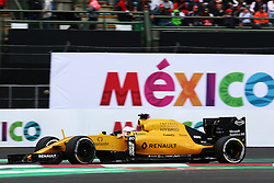 Kevin Magnussen (DEN) Renault Sport F1 Team RS16.<br /> 28.10.2016. Formula 1 World Championship, Rd 19, Mexican Grand Prix, Mexico City, Mexico, Practice Day.<br /> Copyright: Batchelor / XPB Images / action press