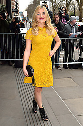 © Licensed to London News Pictures. 08/03/2016. SIAN WELBY arrives for the TRIC Awards. The Television and Radio Industries Club's annual awards ceremony, honour's the best performers and programmes  of the last year .London, UK. Photo credit: Ray Tang/LNP