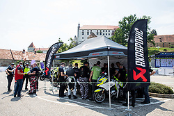 Akrapovic during 1st Stage of 27th Tour of Slovenia 2021 cycling race between Ptuj and Rogaska Slatina (151,5 km), on June 9, 2021 in Slovenia. Photo by Vid Ponikvar / Sportida