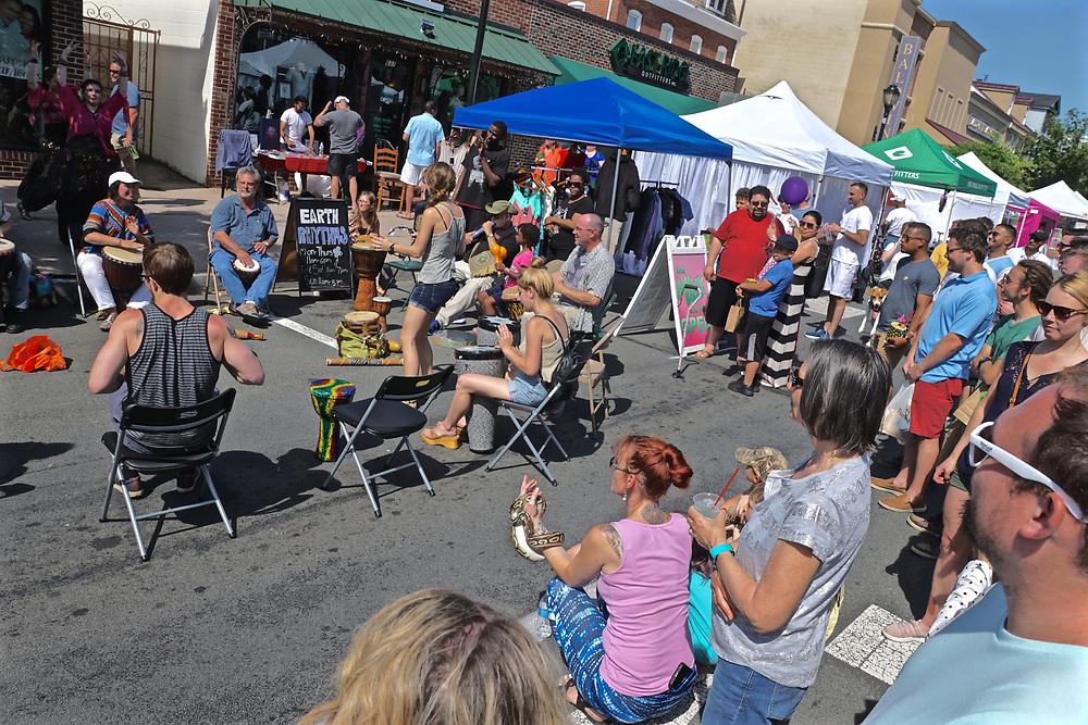 Drumming, West Reading Art Fest, Berks Co.,PA