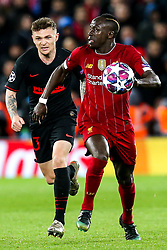 Sadio Mane of Liverpool takes on Kieran Trippier of Atletico Madrid - Mandatory by-line: Robbie Stephenson/JMP - 11/03/2020 - FOOTBALL - Anfield - Liverpool, England - Liverpool v Atletico Madrid - UEFA Champions League Round of 16, 2nd Leg