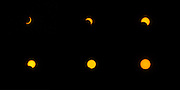 March 9, 2016 - Pekalongan, CENTRAL JAVA, INDONESIA - <br /> <br /> The combined Total Solar Eclipse Photo taken in Islamic Religious High School University, Pekalongan, Central Java, Indonesia, on March 9, 2016. This phenomenon of a Total Solar Eclipse occurs only three hundred years and Indonesai became the only one country to see thess events. Total Solar Eclipse in Indonesia can be seen in the area of Palembang, Palangkaraya, Ternate, Palu, Merauke and Java Island. <br /> ©Exclusivepix Media