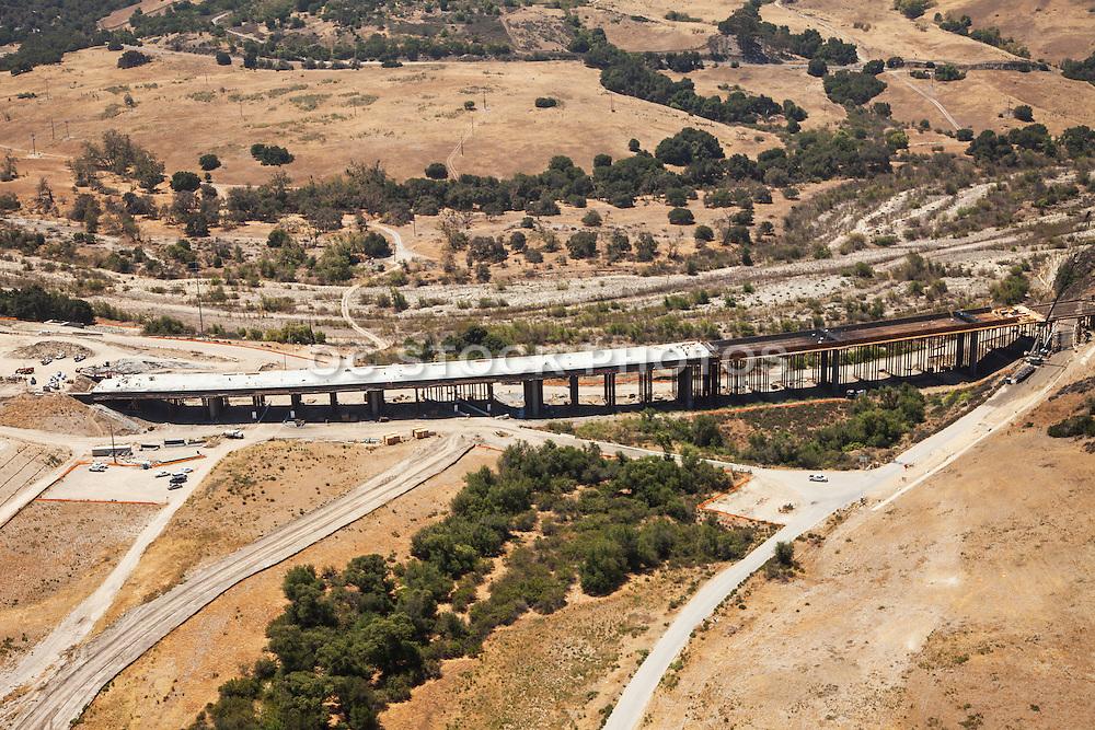 Rancho Mission Viejo New Development Aerial Stock Photo