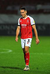 Chris Hussey of Cheltenham Town- Mandatory by-line: Nizaam Jones/JMP - 28/11/2020 - FOOTBALL - Jonny-Rocks Stadium - Cheltenham, England - Cheltenham Town v Crewe Alexandra - Emirates FA Cup second round