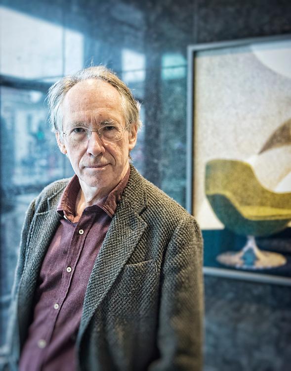 Netherlands. Den Haag, 16-11-2014. Photo: Patrick Post. Portret van Ian McEwan.