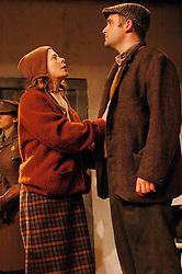 HARVEST <br /> Royal Court Theatre<br /> Press photocall September 14th, 2005 <br /> <br /> l to r<br /> Jane Hazelgrove<br /> Mike Burnside