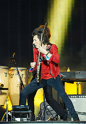 Ronnie Wood of The Rolling Stones performs on stage at Ricoh Arena on June 02, 2018 in Coventry, England. Picture date: Saturday 02 June, 2018. Photo credit: Katja Ogrin/ EMPICS Entertainment.